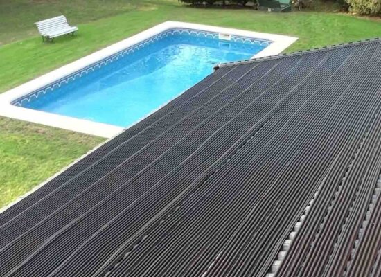 temperado de piscinas, paneles solares piscina