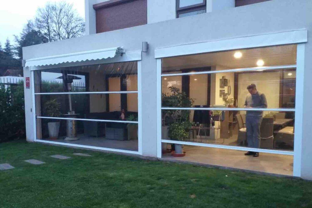 cierre terraza, cierre de terraza pvc