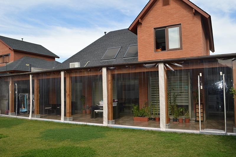 Cierre de Terraza con alzado manual - Solarsol