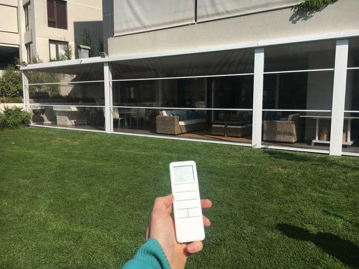 Cierre Terraza PVC Cortavientos, solarsol