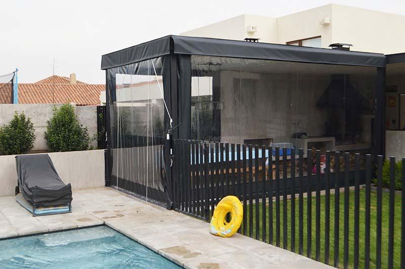 Cierre de Terrazas PVC con Roldana, solarsol