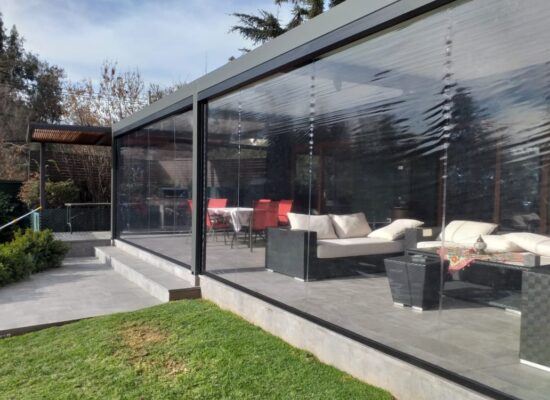 Cierres Terrazas PVC Zip Motorizado, solarsol