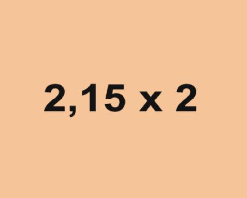 Toldos Vela 2.15x2