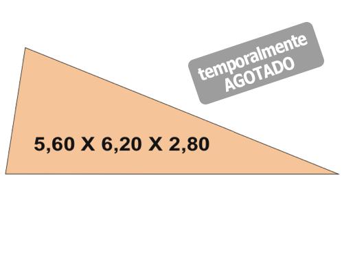 Toldos Vela 5.6×6.2x2.8 agotado