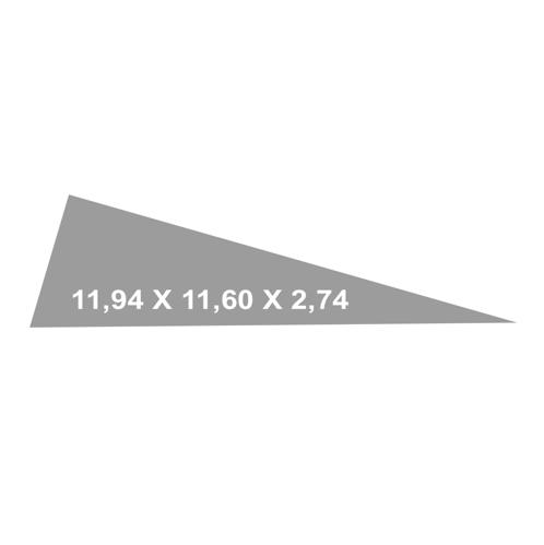 toldos vela 11.94x11.6x2.74 outlet solarsol