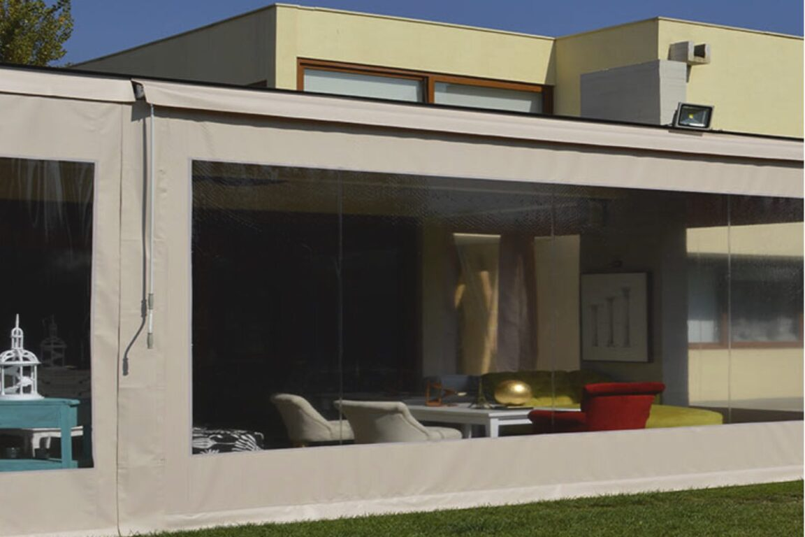 cortinas para terrazas, cortinas pvc